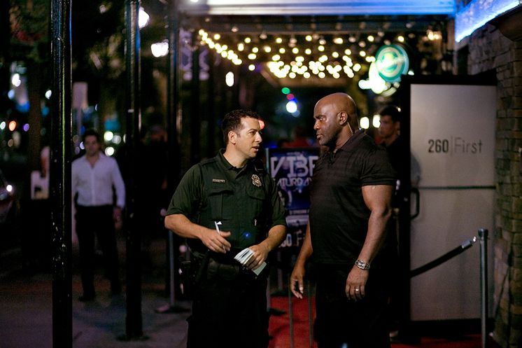 Image result for friendly bouncer at the bar